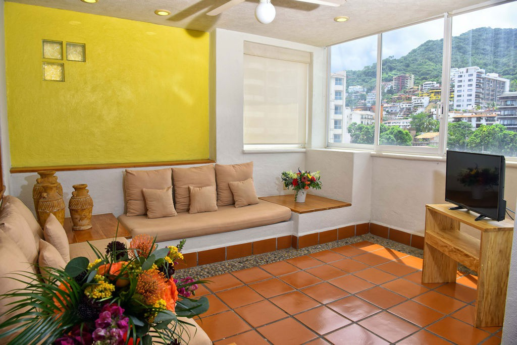 Living Room Suite Family Hotel Puerto Vallarta Hotel Eloisa